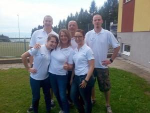 Theatergruppe bei Gemeindeolympiad 2015