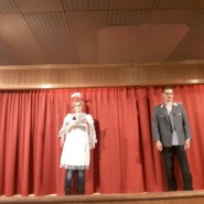 erste Proben auf der Bühne